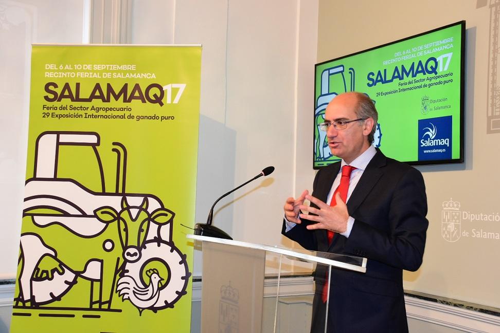 Javier Iglesias presenta la nueva imagen de Salamaq 17.